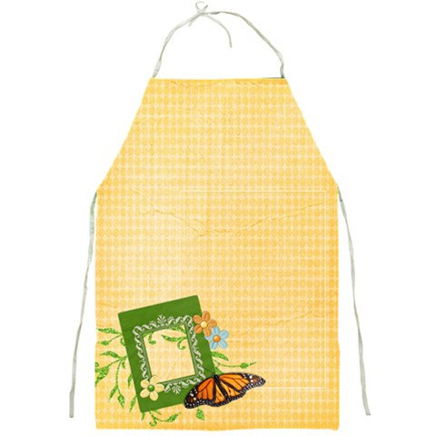 Butterfly Apron By Mikki   Full Print Apron   Jzciyqft7e7o   Www Artscow Com Front