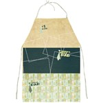 #1 Dad Apron - Full Print Apron