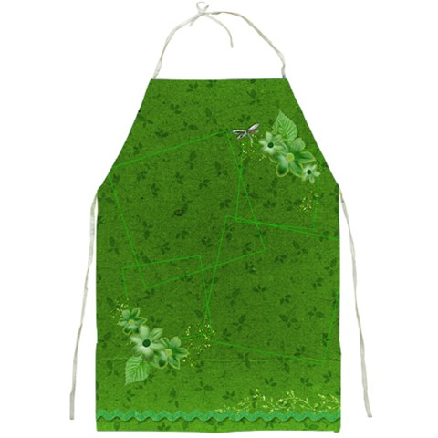 Green Apron By Mikki   Full Print Apron   8sgienny9u6f   Www Artscow Com Front