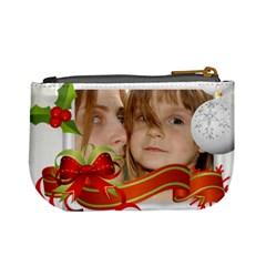 Xmas Bag  By Wood Johnson   Mini Coin Purse   Dh9dwqh1mraz   Www Artscow Com Back