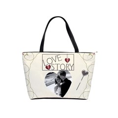 Love Story Shoulder Bag By Lil    Classic Shoulder Handbag   Noeadotj1aba   Www Artscow Com Front
