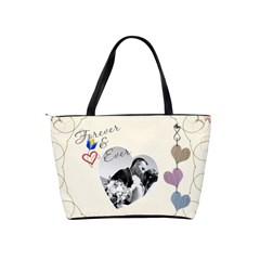 Love Story Shoulder Bag By Lil    Classic Shoulder Handbag   Noeadotj1aba   Www Artscow Com Back