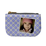 Casual  purse blue stars - Mini Coin Purse