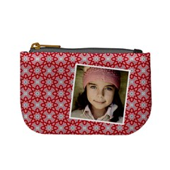 Casual  Purse Red Pattern By Jorge   Mini Coin Purse   4m46d6hdzts6   Www Artscow Com Front