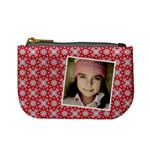 Casual  purse red pattern - Mini Coin Purse