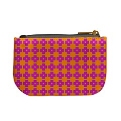Casual  Purse Bleeding Eyes Orange Purple By Jorge   Mini Coin Purse   9zj4wgph4xbu   Www Artscow Com Back