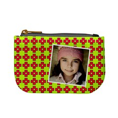 Casual  Purse Bleeding Eyes Red Green By Jorge   Mini Coin Purse   7s8og8vrodql   Www Artscow Com Front