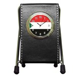 Flag_Sudan Pen Holder Desk Clock