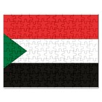 Flag_Sudan Jigsaw Puzzle (Rectangular)