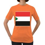 Flag_Sudan Women s Dark T-Shirt