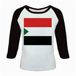 Flag_Sudan Kids Baseball Jersey