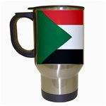 Flag_Sudan Travel Mug (White)