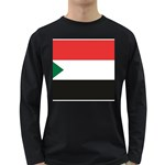 Flag_Sudan Long Sleeve Dark T-Shirt
