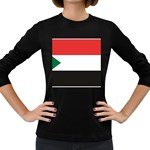 Flag_Sudan Women s Long Sleeve Dark T-Shirt