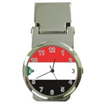 Flag_Sudan Money Clip Watch