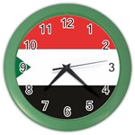 Flag_Sudan Color Wall Clock