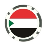Flag_Sudan Poker Chip Card Guard