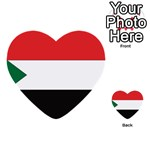 Flag_Sudan Multi-purpose Cards (Heart)