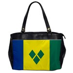 Flag_St Oversize Office Handbag (One Side)