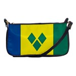 Flag_St Shoulder Clutch Bag