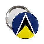 Flag_St lucia 2.25  Handbag Mirror
