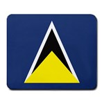 Flag_St lucia Large Mousepad