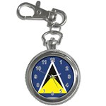 Flag_St lucia Key Chain Watch