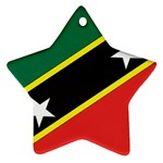 Flag_St chistopher nevis Ornament (Star)