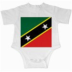 Flag_St chistopher nevis Infant Creeper