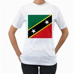 Flag_St chistopher nevis Women s T-Shirt