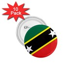 Flag_St chistopher nevis 1.75  Button (10 pack)