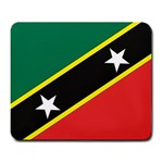 Flag_St chistopher nevis Large Mousepad