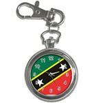 Flag_St chistopher nevis Key Chain Watch