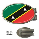 Flag_St chistopher nevis Money Clip (Oval)