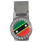 Flag_St chistopher nevis Money Clip (CZ)