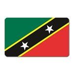 Flag_St chistopher nevis Magnet (Rectangular)