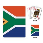 Flag_South Africa Playing Cards Single Design