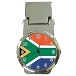 Flag_South Africa Money Clip Watch