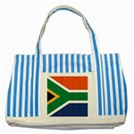 Flag_South Africa Striped Blue Tote Bag