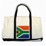 Flag_South Africa Two Tone Tote Bag