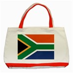 Flag_South Africa Classic Tote Bag (Red)