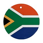 Flag_South Africa Round Ornament (Two Sides)