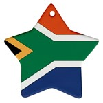 Flag_South Africa Star Ornament (Two Sides)