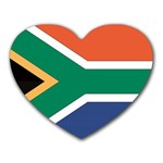 Flag_South Africa Mousepad (Heart)