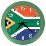 Flag_South Africa Color Wall Clock
