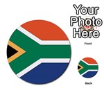 Flag_South Africa Multi-purpose Cards (Round)