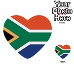 Flag_South Africa Multi-purpose Cards (Heart)