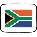 Flag_South Africa Mini Fleece Blanket(Two Sides)