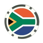 Flag_South Africa Poker Chip Card Guard (10 pack)
