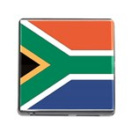 Flag_South Africa Memory Card Reader with Storage (Square)